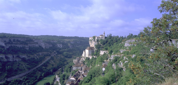 Perched village of Rocamadour