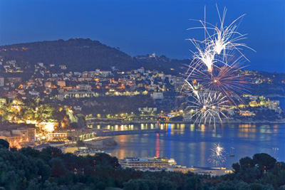 FireWorks in Nice