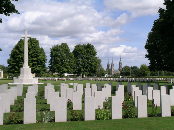 British cemetery of Bayeux