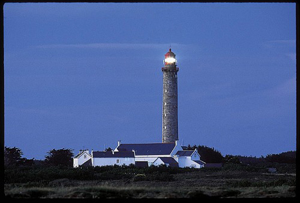 light house of Belle Ile island